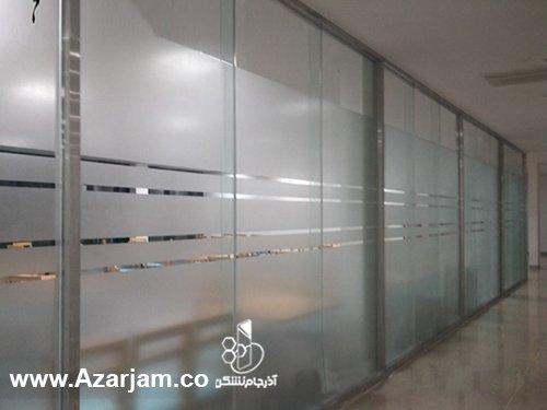 انواع پارتیشن شیشه ای