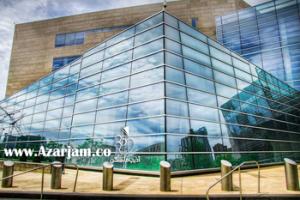 نمای شیشه دوجداره